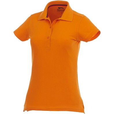 Slazenger™ Damen Poloshirt Advantage, orange, S