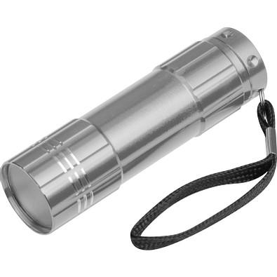 Aluminium-LED-Lampe, silber