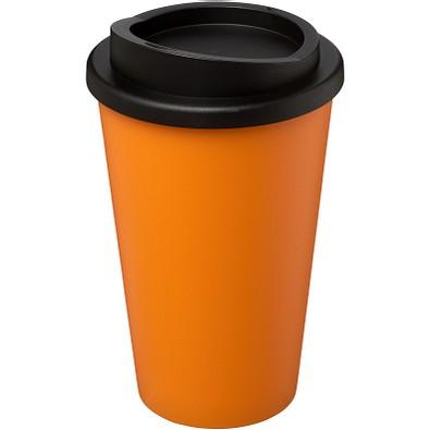 Americano® 350 ml Isolierbecher, orange,schwarz
