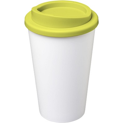 Americano® 350 ml Isolierbecher, weiss,limone