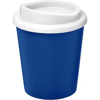 Americano Espresso Isolierbecher, 250 ml, blau,weiss