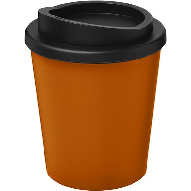 Americano Espresso Isolierbecher, 250 ml, orange,schwarz
