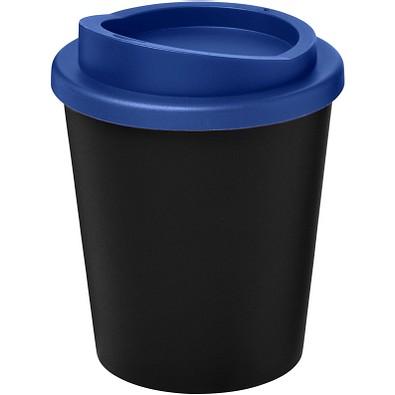 Americano Espresso Isolierbecher, 250 ml, schwarz,blau