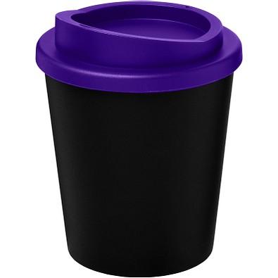 Americano Espresso Isolierbecher, 250 ml, schwarz,lila