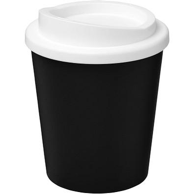 Americano Espresso Isolierbecher, 250 ml, schwarz,weiss