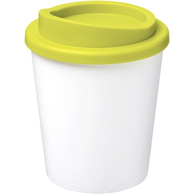 Americano Espresso Isolierbecher, 250 ml, weiss,limone
