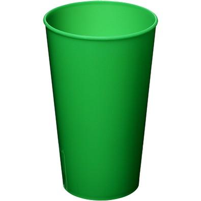 Arena Kunststoffbecher, 375 ml, grün