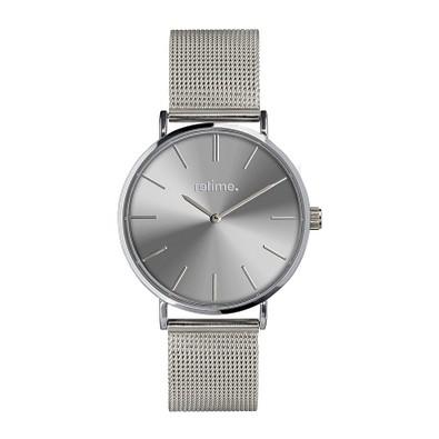 retime® Armbanduhr Budget XXXII, silber
