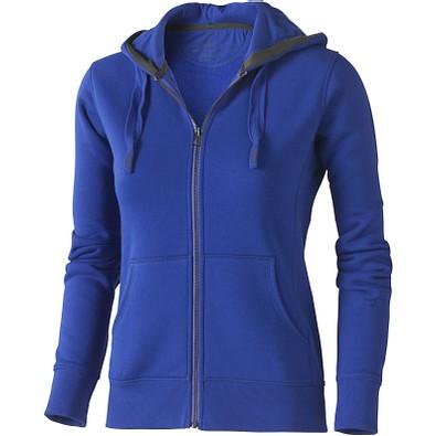 ELEVATE Damen Kapuzensweatjacke Arora, blau, XL