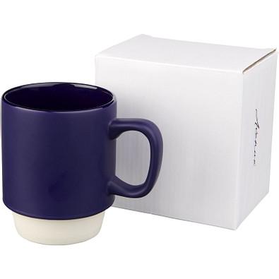 Arthur Keramikbecher, 420 ml, dunkelblau