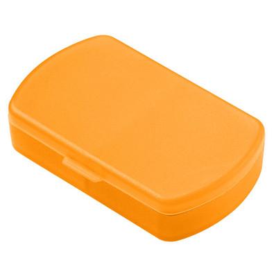 Aufbewahrungsdose Duo, trend-orange PP