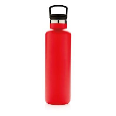 XD COLLECTION Auslaufsichere Vakuumflasche, rot