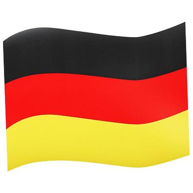 Automagnetflagge Deutschland, Groß