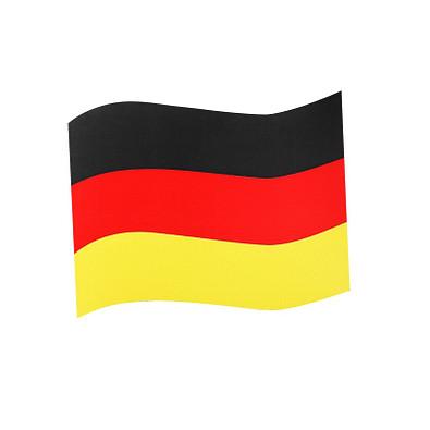Automagnetflagge Deutschland, Mittel