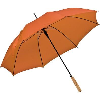 Automatikstockschirm aus Polyester, orange