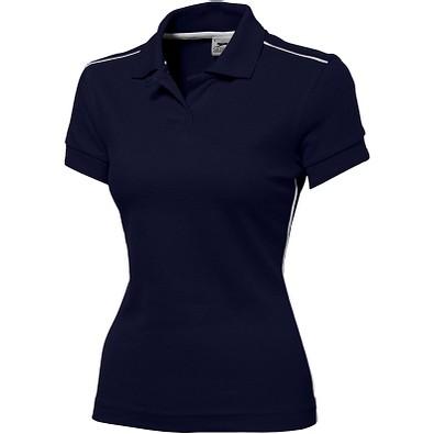 Slazenger™ Damen Poloshirt Backhand, dunkelblau, XL
