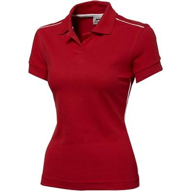 Slazenger™ Damen Poloshirt Backhand, rot, XL