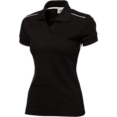 Slazenger™ Damen Poloshirt Backhand, schwarz, XL