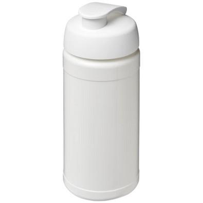 Baseline Plus Sportflasche mit Klappdeckel, 500 ml, weiss