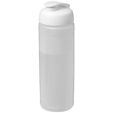 Baseline Plus Flasche mit Klappdeckel, 750 ml, transparent,weiss
