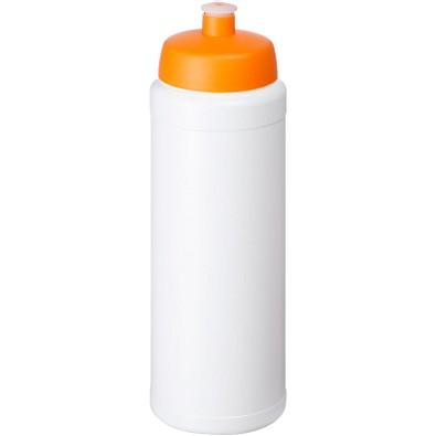 Baseline Plus Flasche mit Sportdeckel, 750 ml, weiss,orange