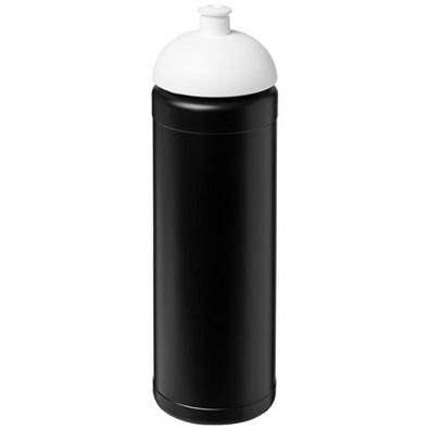 Baseline Plus Sportflasche mit Stülpdeckel, 750 ml, schwarz,weiss