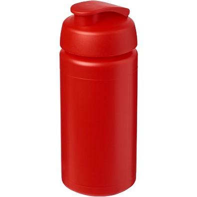 Baseline Plus grip Sportflasche mit Klappdeckel, 500 ml, rot