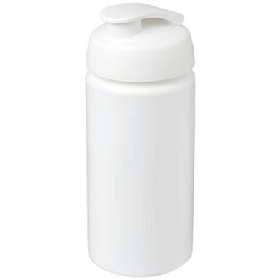 Baseline Plus grip Sportflasche mit Klappdeckel, 500 ml, weiss