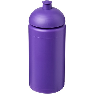 Baseline® Plus grip 500 ml Sportflasche mit Stülpdeckel, lila