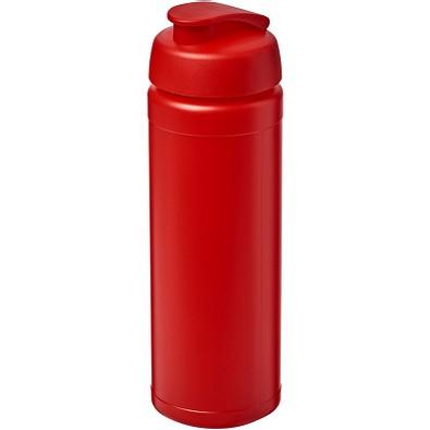 Baseline Plus grip Sportflasche mit Klappdeckel, 750 ml, rot