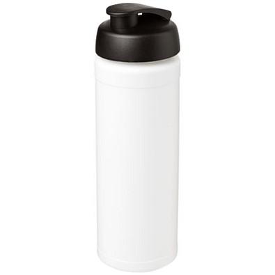 Baseline Plus grip Sportflasche mit Klappdeckel, 750 ml, weiss/schwarz