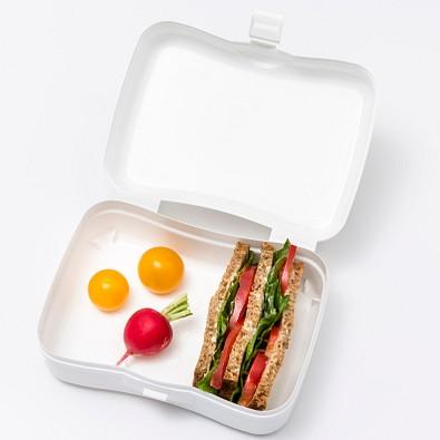 koziol Lunchbox Basic, cotton white