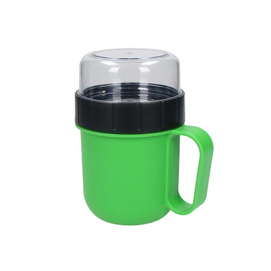 Becher mit Aufsatz Urban, 520 ml, grün