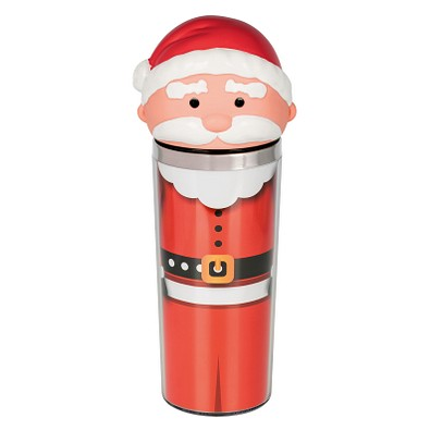 reflects® Becher Santa, 300 ml, rot/weiß