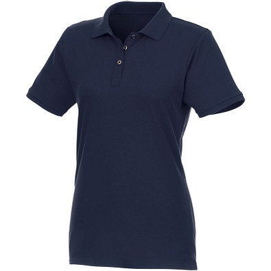 ELEVATE Damen Kurzarm Poloshirt Beryl aus Bio-Recyclingmaterial, dunkelblau, XL