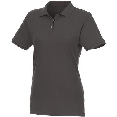 ELEVATE Damen Kurzarm Poloshirt Beryl aus Bio-Recyclingmaterial, grau, L