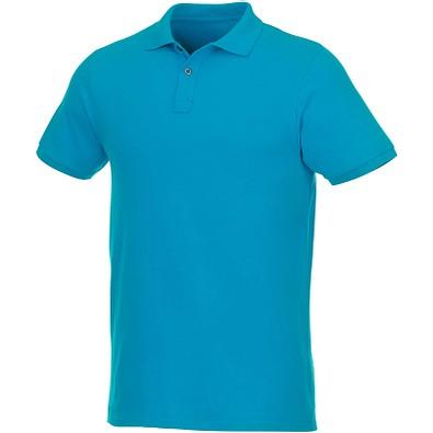 ELEVATE Herren Kurzarm Poloshirt Beryl aus Bio-Recyclingmaterial, blau, XXXL