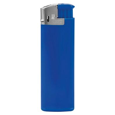 BIC® Feuerzeug J38 Chrome Hood, blau