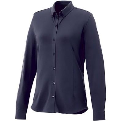ELEVATE Damen Langarm Bluse Bigelow, dunkelblau, S