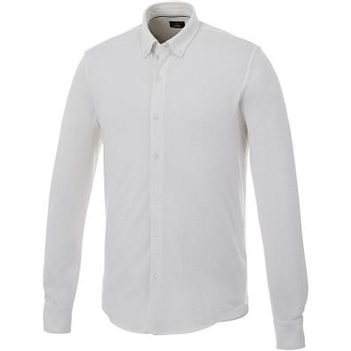 ELEVATE Herren Langarm Hemd, weiß, S
