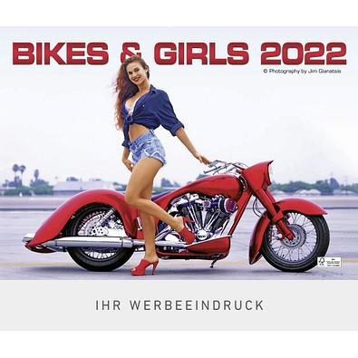 Bildkalender Bikes & Girls 2022