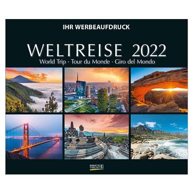 Bildkalender Weltreise 2022