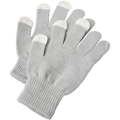 Billy taktile Handschuhe, hellgrau