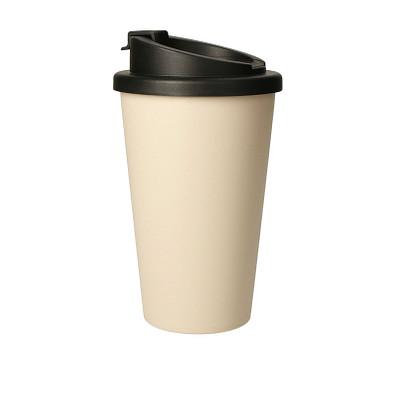 "Bio-Kaffeebecher ""Premium Deluxe"", aprikose"