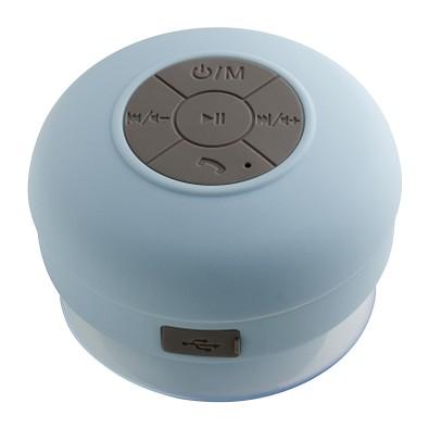 reeves® Bluetooth Duschlautsprecher mit Radio Avignon, hellblau