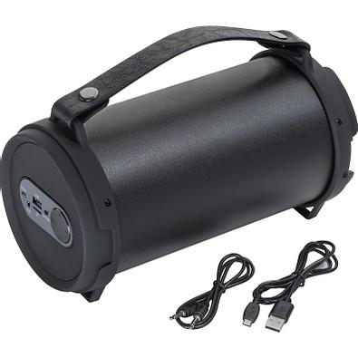 Bluetooth Lautsprecher mit integriertem Radio, schwarz