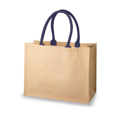 Mister Bags Jutefaser-Tasche Bonnie, dunkelblau