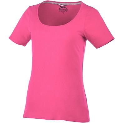 Slazenger™ Damen T-Shirt Bosey mit weitem Rundhalsausschnitt, rosa, XL