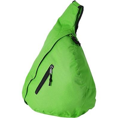 Nylon-Schulter-Bag, hellgrün