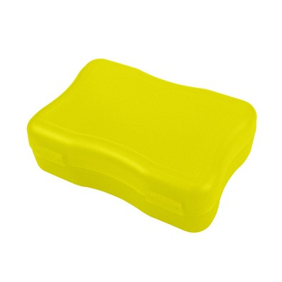 Brotzeitdose Wave, 14,7 x 10 cm, klein, trend-gelb PP